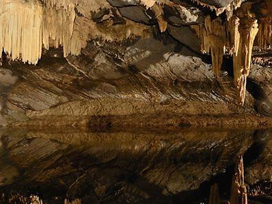 The atmospheric Grottes de Han in Belgium