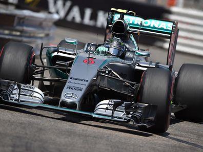 Nico Rosberg am Sonnntag in seinem Mercedes AMG Petronas.