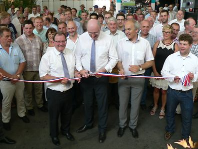 "EU-Agrarkommissar Phil Hogan eröffnete am Freitag die ""Foire agricole""."