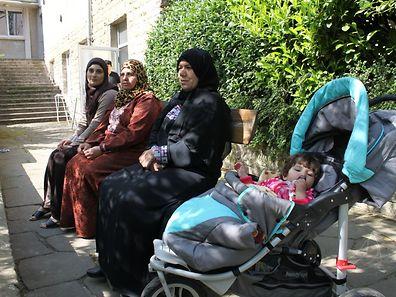 Des réfugiés syriens au Luxembourg plus exactement à Weilerbach en mai dernier