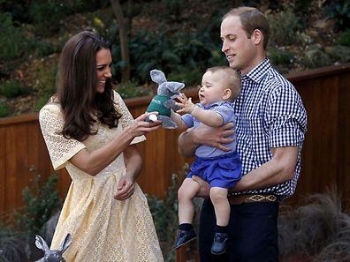 Der kleine Prinz George wird am 22. Juli zwei Jahre alt
