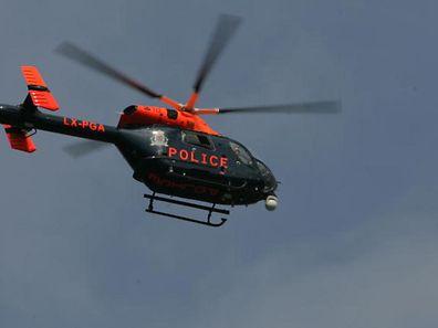 L'hélicoptère de la police grand-ducale a été mis à contribution ce matin à Beggen.