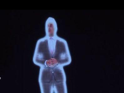 Xavier Bettel virtuell auf der Bühne bei KPMG