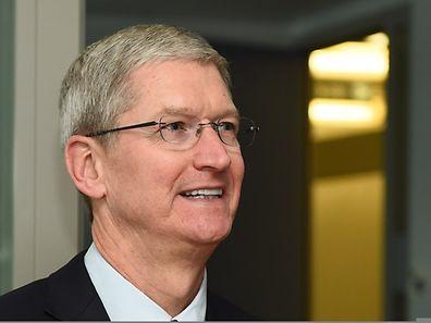 """Apple-Chef Tim Cook: """"Wenn wir nicht verschlüsseln, treffen wir damit die guten Leute. Es sind die 99,999 Prozent der Menschen, die gut sind."""""""