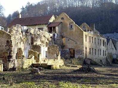 The crumbling ruins and grounds of Mansfeld castle, also known as La Fontaine, in Clausen, are to be restored