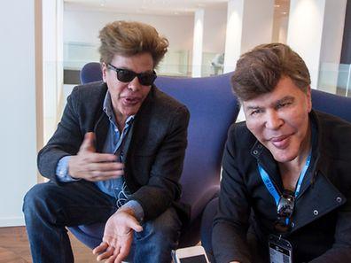 20.5.Kirchberg / ICT Spring Conf/ ITV Gebrueder Bogdanoff , Igor und Grishka vlnr Foto: Guy Jallay