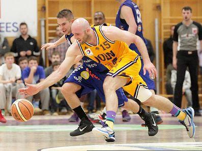 John Reimold und Amicale behaupteten sich gegen Basket Esch.