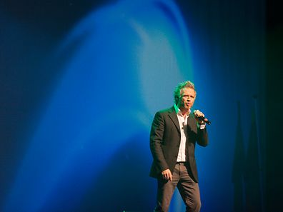 Thierry Mersch sings at Eurovision Gala Night 2014