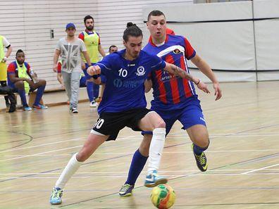 En championnat, Munsbach (en bleu) avait dominé le Sparta Dudelange à deux reprises. Place à la revanche, ce dimanche, en demi-finale de la Coupe de Luxembourg.