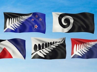 The 5 designs shortlisted for New Zealand's possible new flag design