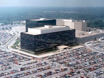 The NSA HQ in Maryland