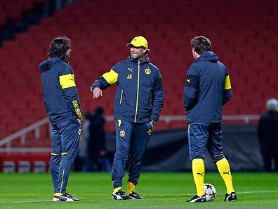 Die Stimmung bei Jürgen Klopp und seiner Mannschaft ist trotz der angespannten Lage gut.