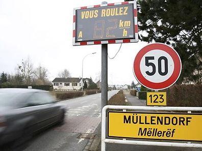 A localidade de Müllendorf vai ter a circulação limitada a 30 Km/h