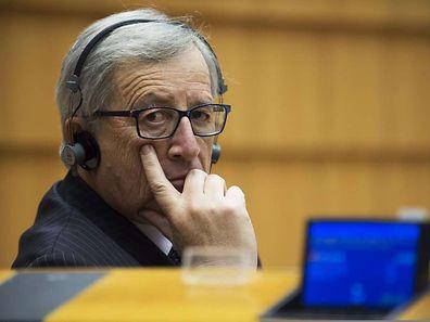 Kommissionschef Jean-Claude Juncker vergangene Woche bei einer Plenarsitzung in Brüssel.