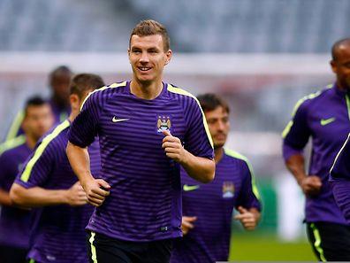 Gegen Edin Dzeko und Manchester City ist Bayern München am Mittwoch stark gefordert.