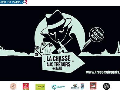 Les chasse aux trésors se dérouleront dans 15 arrondissements et dans les villes de Saint-Ouen et de Saint-Denis.