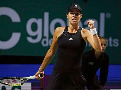 Une victoire pour l'honneur pour Ana Ivanovic. La Serbe a échoué dans la course aux demi-finales pour un set.