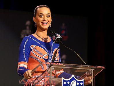 Katy Perry freut sich auf ihren großen Auftritt.