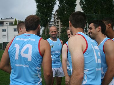 Luxembourg's Men's Open touch team