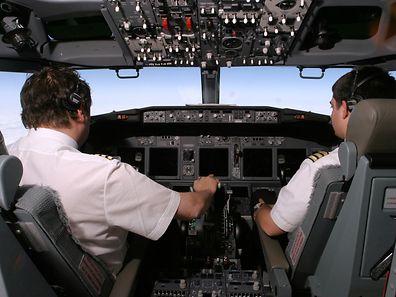"""Im """"Cockpit"""" der Flugsicherheit geht es derzeit weniger friedlich zu, als in dieser Pilotenkanzel."""