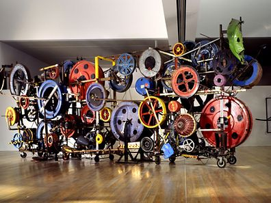 Jean Tinguely's Fatamorgana will be on display as part of the Eppur Si Muove exhibition next year