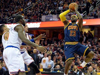 20.500 spectateurs ont assisté au show de rentrée de LeBron James et à... la défaite de Cleveland face aux Knicks de New York