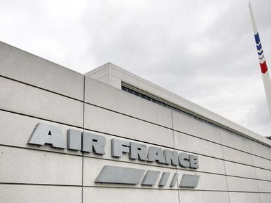 File photo shows French airline company Air France's headquarters at the Roissy-Charles de Gaulle airport