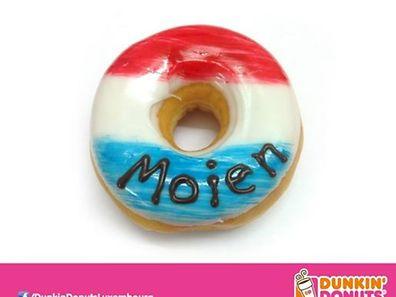 In Luxemburg wurde kürzlich eine erste Dunkin'Donuts-Filiale eröffnet.