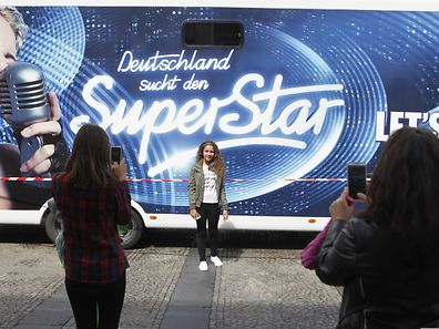 DSDS-Truck in Luxemburg