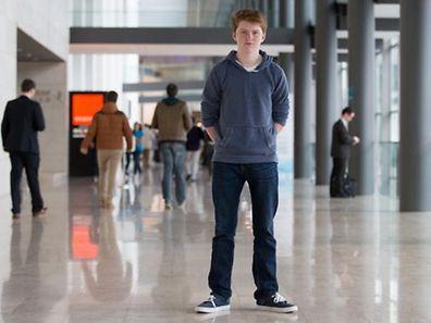 Mit neun Jahren lernte Jordan Casey die Programmierung. Vier Jahre später gründete er sein erstes Unternehmen.