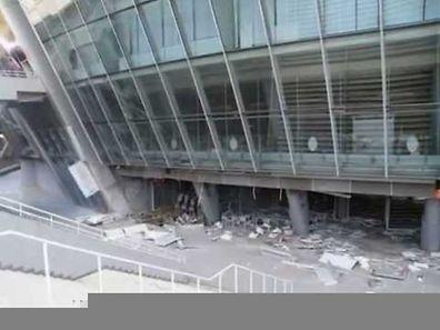 La Donbass Arena n'est pas épargnée par la guerre