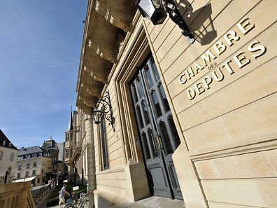 Die Abgeordnetekammer in Luxemburg.