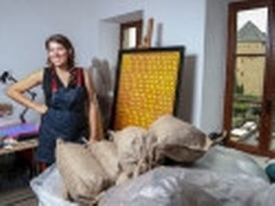 28.8. Kultur / Atelier Artiste : Sophie Medawar / Bourglinster Foto: Guy Jallay
