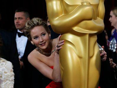 Jennifer Lawrence ist eigentlich immer zu Späßen aufgelegt ... nur nicht in diesem Fall.