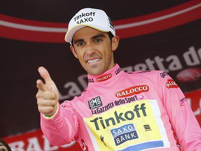 Alberto Contador hat vor der letzten Etappe mehr als zwei Minuten Vorsprung auf seine Verfolger.