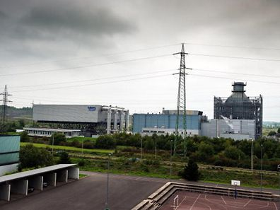 The Twinerg plant generating power from gas based in Esch-sur-Alzette