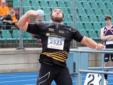 Bob Bertemes hat neuen Landesrekord gestoßen.