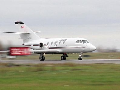 TO GO WITH AFP STORY by Sophie Fougeres, CANADA-ENVIRONMENT-AVIATION-ENERGY 