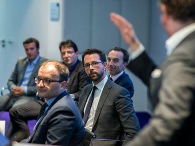 L'avocat spécialisé dans l'ICT, Jean-Louis Schiltz, a mené le débat autour des Fintech lundi soir.