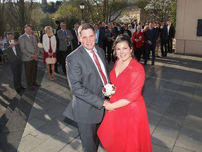 Hochzeit Bauer Guy Wester und Victoria,Gemeinde Hesperange.Foto.Gerry Huberty