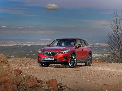 Für das SUV Mazda CX-5 gibt es eine neue Topmotorisierung mit 141 kW/192 PS.