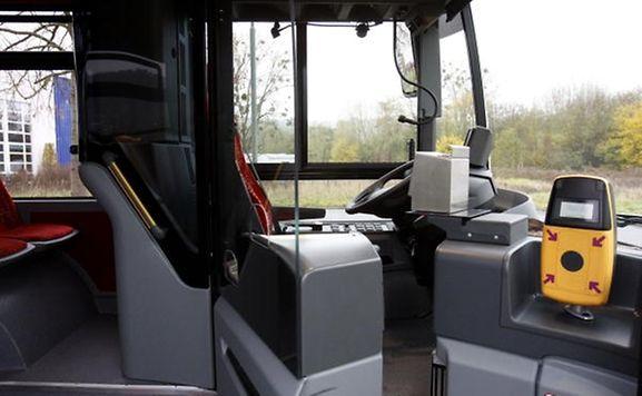 Per Knopfdruck werden Busfahrer der Regionalverkehrsbetriebe (RGTR) eine Alarmnachricht an ihre Leitstelle bzw an die Polizei schicken können.