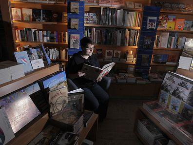 In den Luxemburger Buchhandlungen gibt es häufig spezielle Bereiche zur nationalen Literatur..