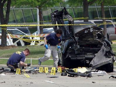 Bei dem Angriff starben die beiden Täter.