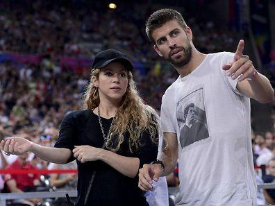 Gerard Pique et sa femme  Shakira