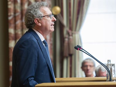 Finanzminister Gramegna glaubt an die Innovationskraft der luxemburger Unternehmer.