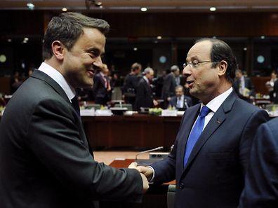 Xavier Bettel et François Hollande se voient régulièrement.