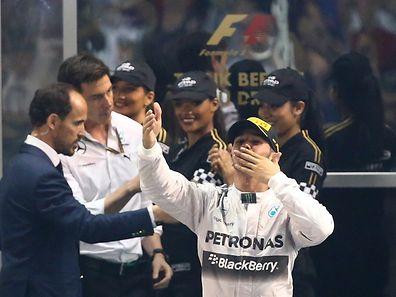 Lewis Hamilton a remporté dimanche son deuxième titre mondial.