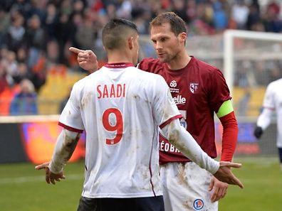 Sylvain Marchal est bien décidé à poursuivre l'aventure avec le FC Metz,... même en Ligue 2.