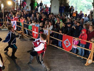 Fête médiévale au château de Vianden